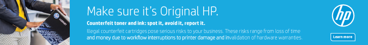 HP Supplies Anti Counterfeit