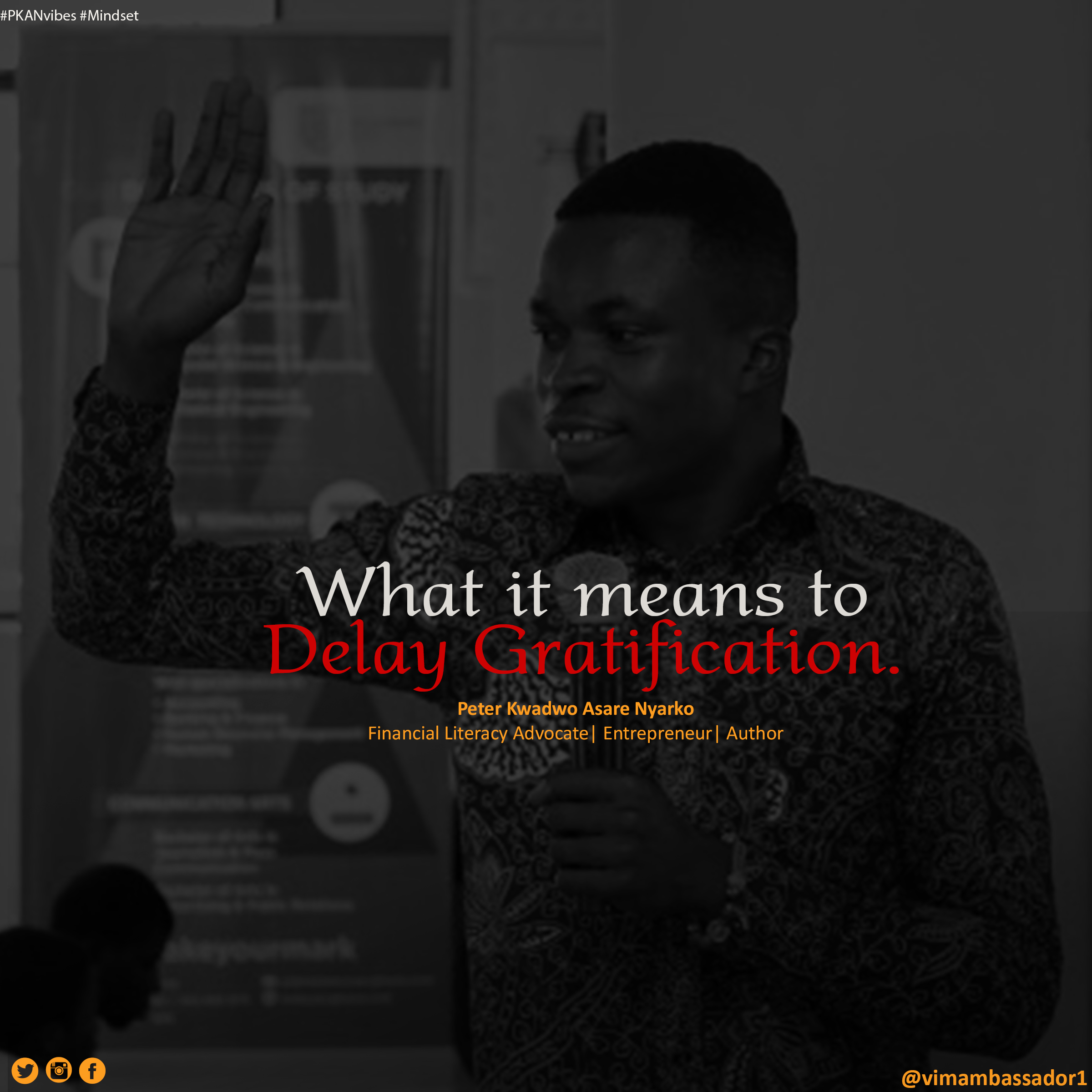 What it means to Delay Gratification