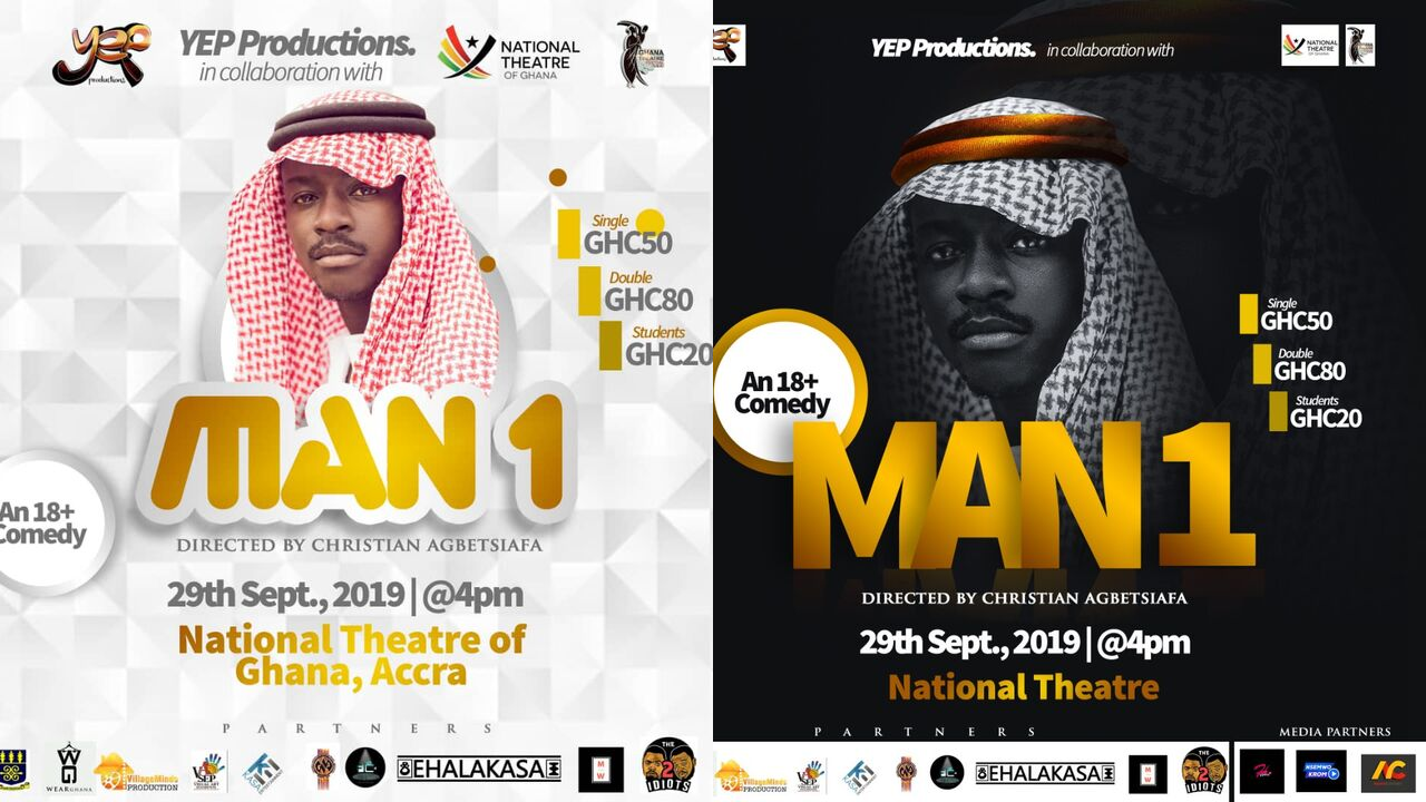 EVENT ALERT: MAN1 - An 18+ Comedy show by YEP Productions