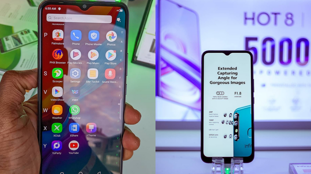 Infinix Hot 8 (2019): Full Phone Specifications, Features, Price and more