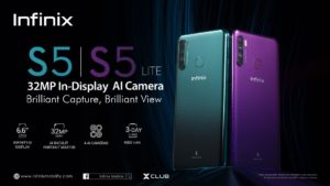 Infinix launches S5, the biggest Infinity-O Display smartphone under Ghc 1000 in Ghana